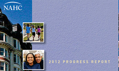 NAHC 2012 Annual Progress Report