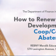 Coop/Condo Abatement Training – Sept. 13